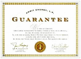 Guarantee bond
