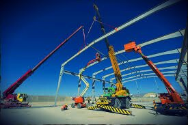 Picture of maintenance construction site