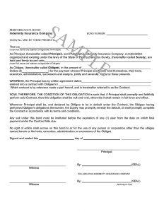 surety agreement sample